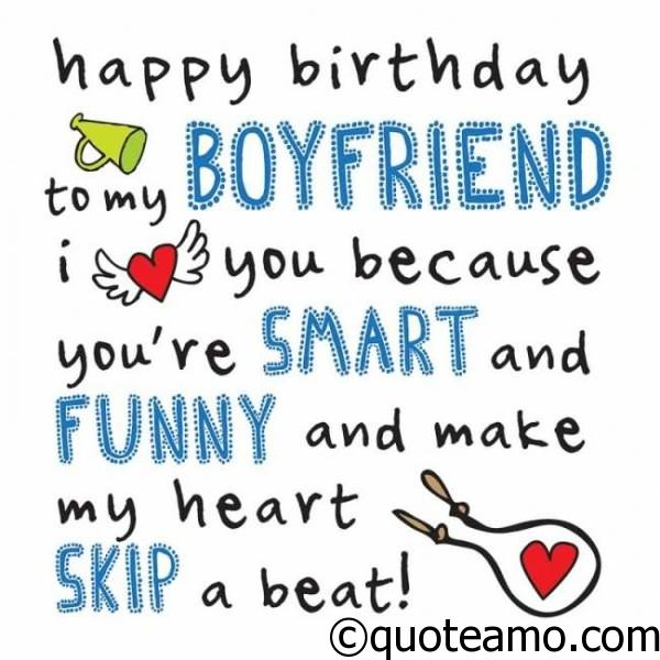 Happy Birthday Poems For Him Cute Poetry For Boyfriend Or: Happy Birthday To My Boyfriend